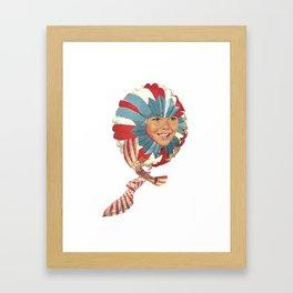 sonik Framed Art Print
