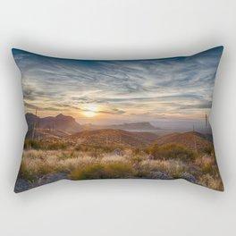 Follow The Sun Rectangular Pillow