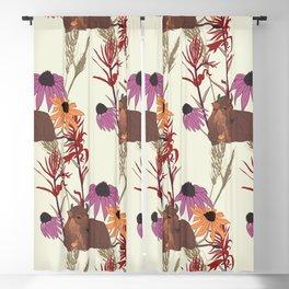 American Prairie Pattern Blackout Curtain