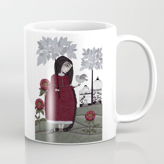 Winterbird, or Hope is a Thing With Feathers Mug