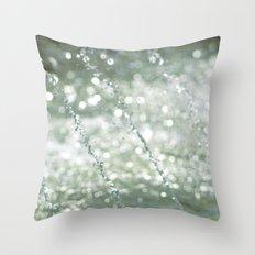Dancing Water III Throw Pillow