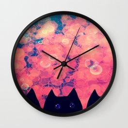 cats-446 Wall Clock