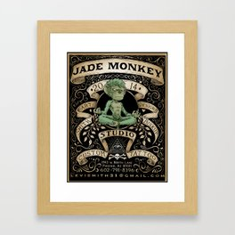Jade Monkey Studio Framed Art Print
