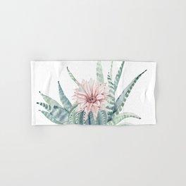 Petite Cactus Echeveria Hand & Bath Towel