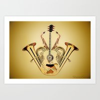 Orchestrate Art Print