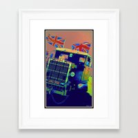 truck Framed Art Prints featuring Truck by elkart51