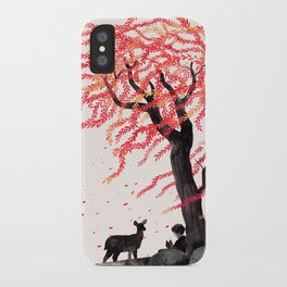 Wind in the Willows iPhone Case