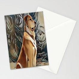 A Golden Retriever Stationery Cards
