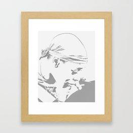 Moments to remember Framed Art Print