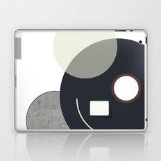 Abstract Concrete Circles Design Print Laptop & iPad Skin