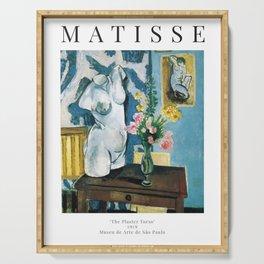 The Plaster Torso - Henri Matisse - Exhibition Poster Serving Tray