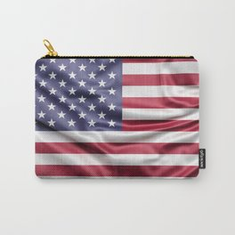 Flag of United States of America Carry-All Pouch
