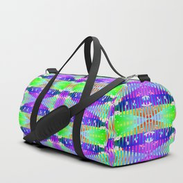3105 Lights, stains, stripes, and patterns 2 ... Duffle Bag
