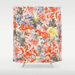 FLOWERY I Shower Curtain