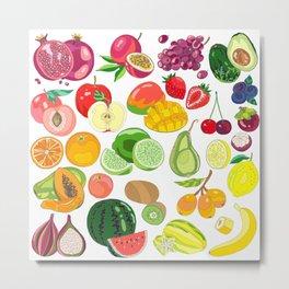 Fruits Paradise Metal Print