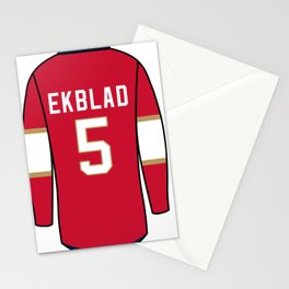 Aaron Ekblad Jersey Stationery Cards