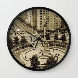 Columbus Wall Clock