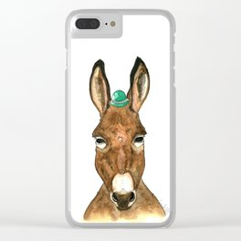 Ane au chapeau Clear iPhone Case
