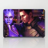 mass effect iPad Cases featuring Mass Effect - For love... by Amber Hague