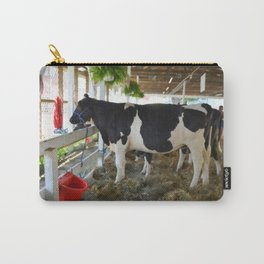 Black and white cow Carry-All Pouch