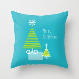 Merry Throw Pillow