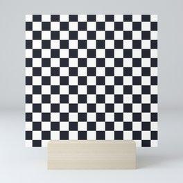 Classic Checkerboard Pattern Mini Art Print