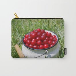 Prunus cerasus sour cherry fruits Carry-All Pouch