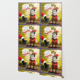 Here's Santa! Wallpaper