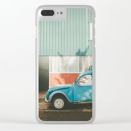 Old Citroen in Noord Amsterdam Clear iPhone Case