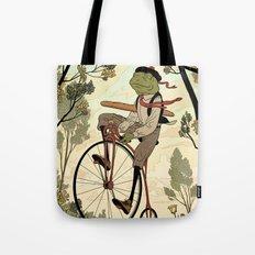 Morning Ride Tote Bag