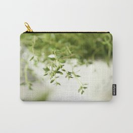 Fresh Herb In A White Pot #decor #society6 Carry-All Pouch