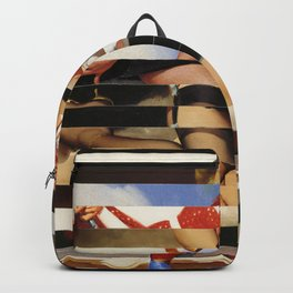 Glitch Pin-Up Redux: Daisy Backpack