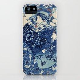 Japenese Blue iPhone Case