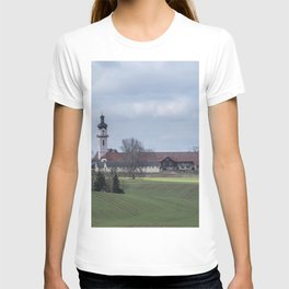 View on Peter and Paul church Laupheim-Germany T-shirt