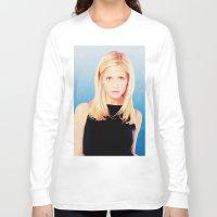 buffy the vampire slayer Long Sleeve T-shirts featuring Buffy the Vampire Slayer, Cross by Your Friend Elle