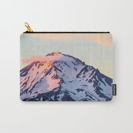 Mount Shasta Sunset Glow Carry-All Pouch