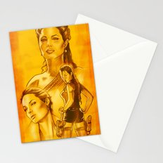 Angelina Jolie - Série Ouro Stationery Cards
