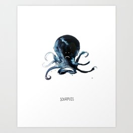 Sourpuss Art Print