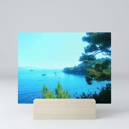 Blue Heaven Mini Art Print