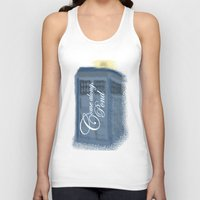 amy pond Tank Tops featuring Come Along, Pond by colleencunha
