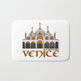 Venice St.Mark's Basilica Bath Mat