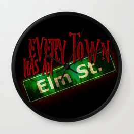 Every Town Elm Street Wall Clock