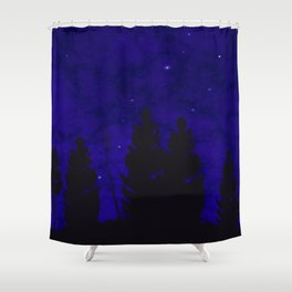 Worlds much like Ours Shower Curtain
