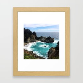 Julia Pfeiffer Falls Framed Art Print