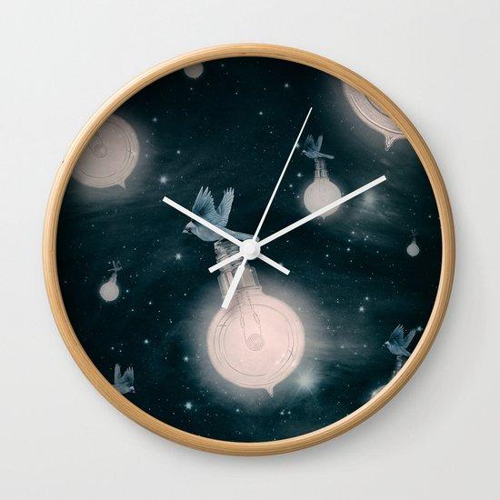Light the Universe Wall Clock