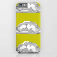Cloud on Goldenrod Slim Case iPhone 6s