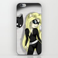 catwoman iPhone & iPod Skins featuring Catwoman by oONekoGirloO