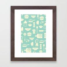 Kitchen Culture Framed Art Print