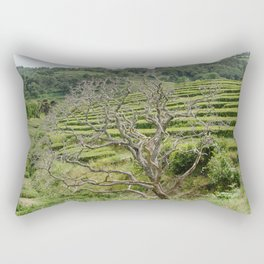 L'arbre et le thé Rectangular Pillow
