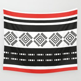 African Tribal Pattern No. 189 Wall Tapestry